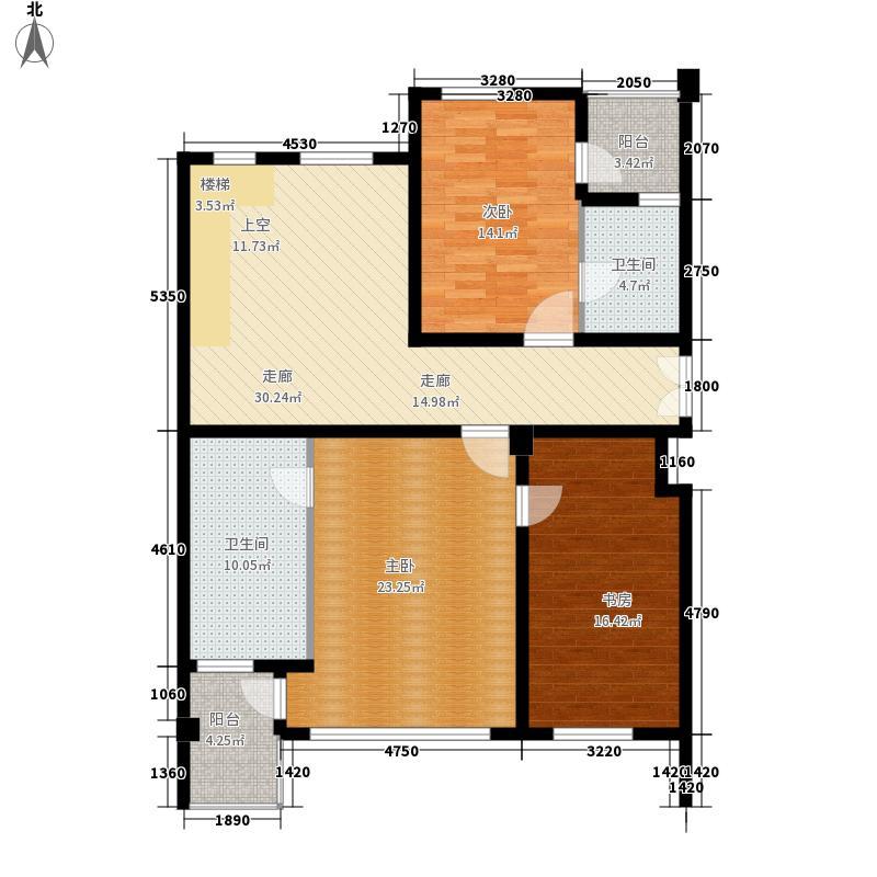 冠城水岸风景250.00㎡一期9#楼王面积25000m户型
