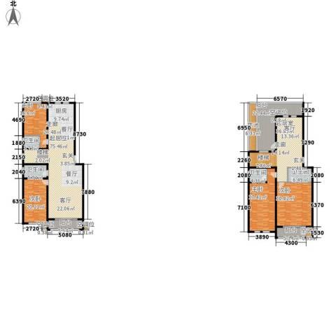 中景华庭4室0厅4卫0厨379.00㎡户型图