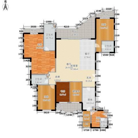 嘉年华国际社区5室0厅4卫1厨252.00㎡户型图