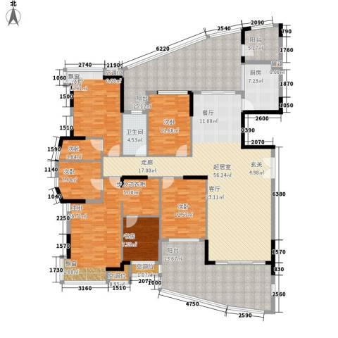 富逸臻园7室0厅1卫1厨235.00㎡户型图