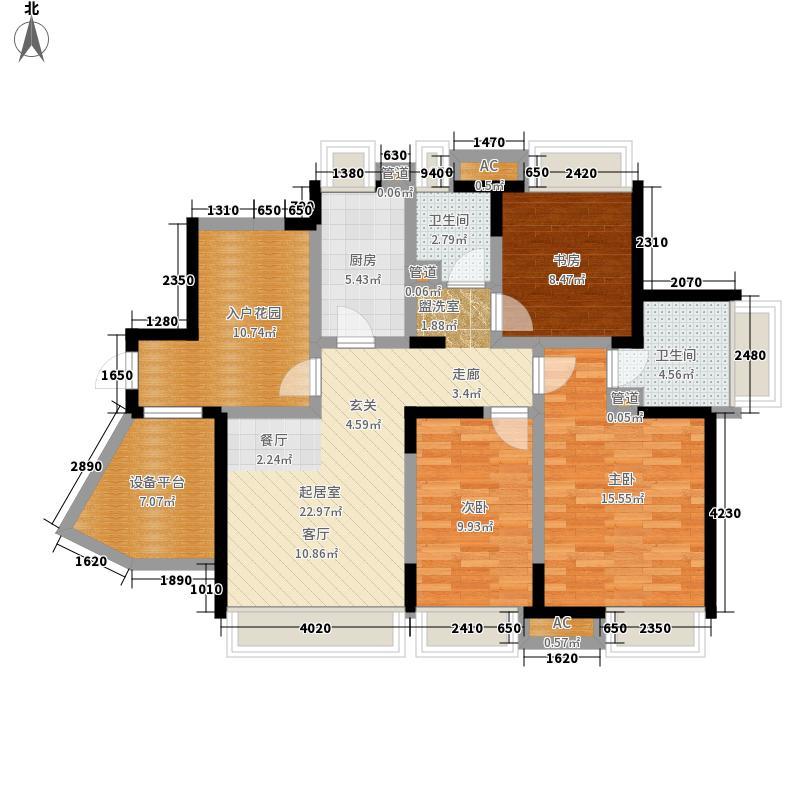 博轩园110.00㎡一期高层7、8号楼面积11000m户型