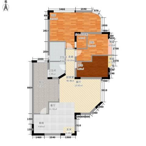 西亚怡顺佳苑3室0厅2卫0厨112.00㎡户型图