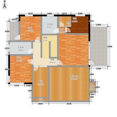 隐学山庄4室0厅2卫0厨234.00㎡户型图