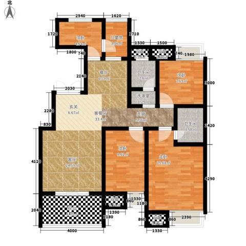 建秦苑5室1厅2卫0厨135.00㎡户型图