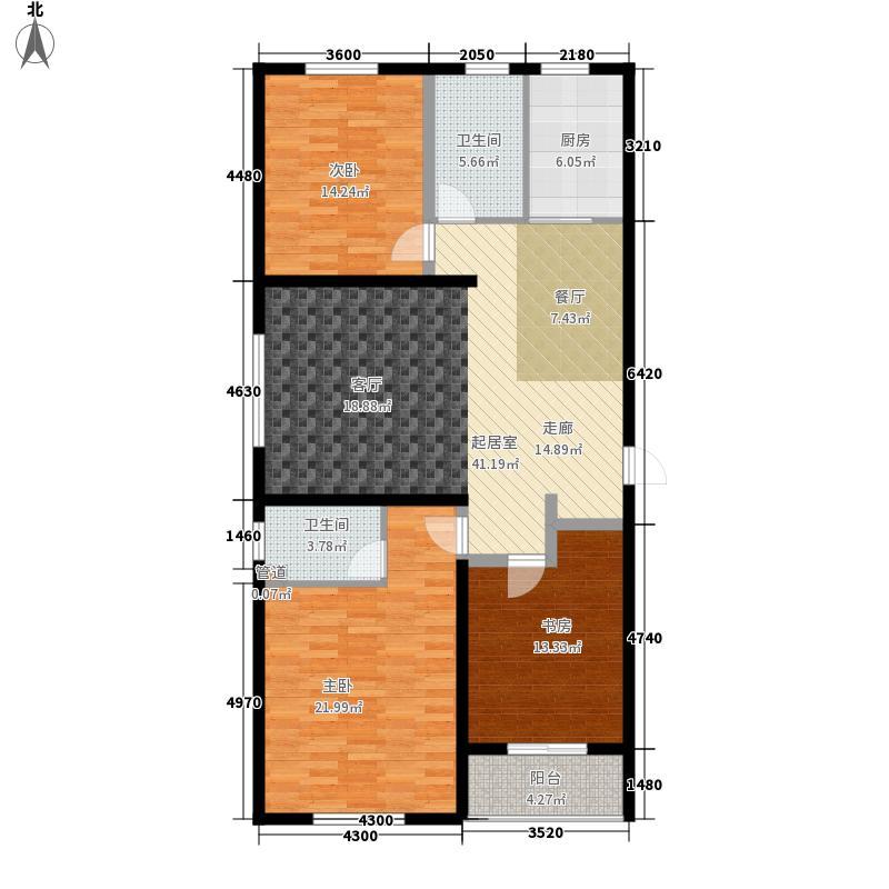 百合世嘉10#楼3C户型