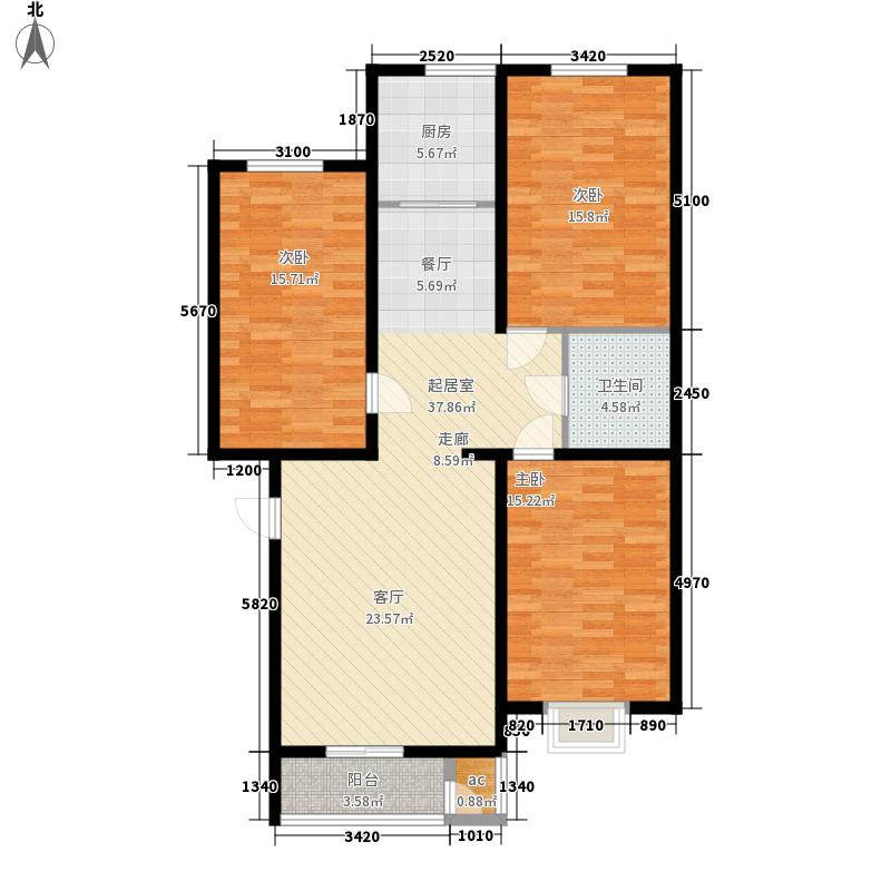 东华温馨家园113.30㎡M2面积11330m户型