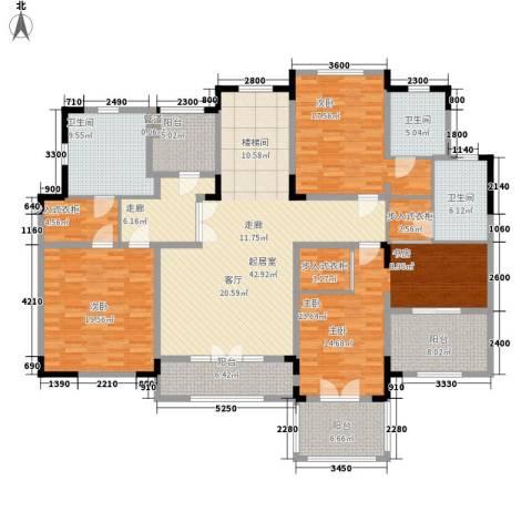 新城帝景3室0厅3卫0厨236.00㎡户型图