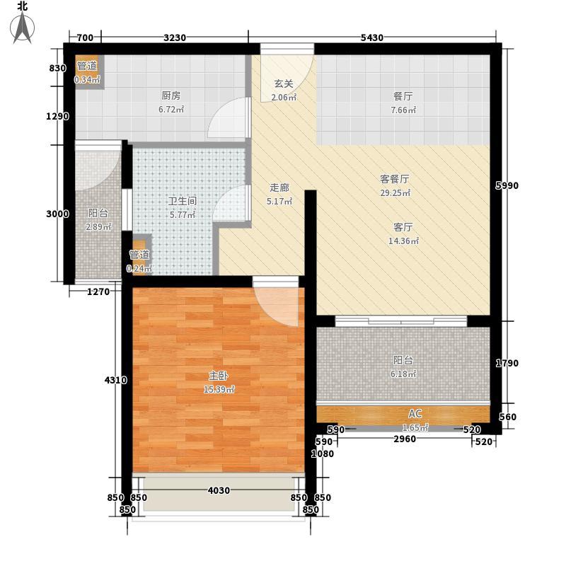 名馨花园78.00㎡名馨花园户型图户型图1室2厅1卫1厨户型1室2厅1卫1厨
