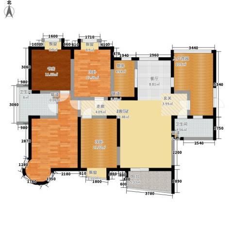 铭雅欧洲城4室0厅1卫1厨300.00㎡户型图