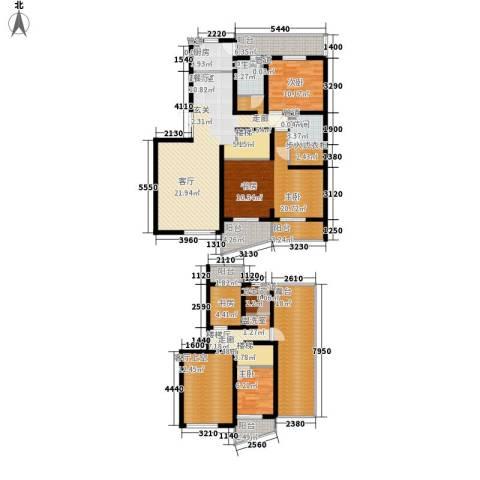 圣雅园·丽景4室0厅3卫1厨174.00㎡户型图