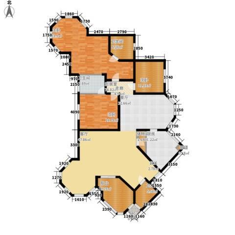 铭雅欧洲城3室0厅3卫1厨200.00㎡户型图