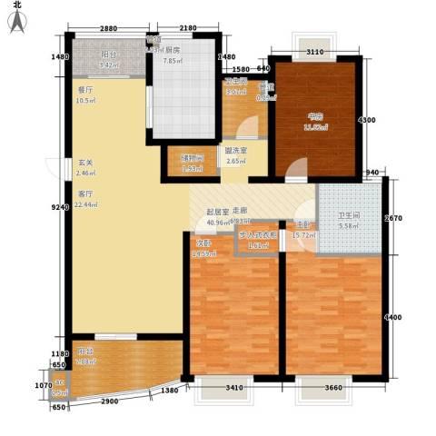 圣雅园·丽景3室0厅2卫1厨130.00㎡户型图