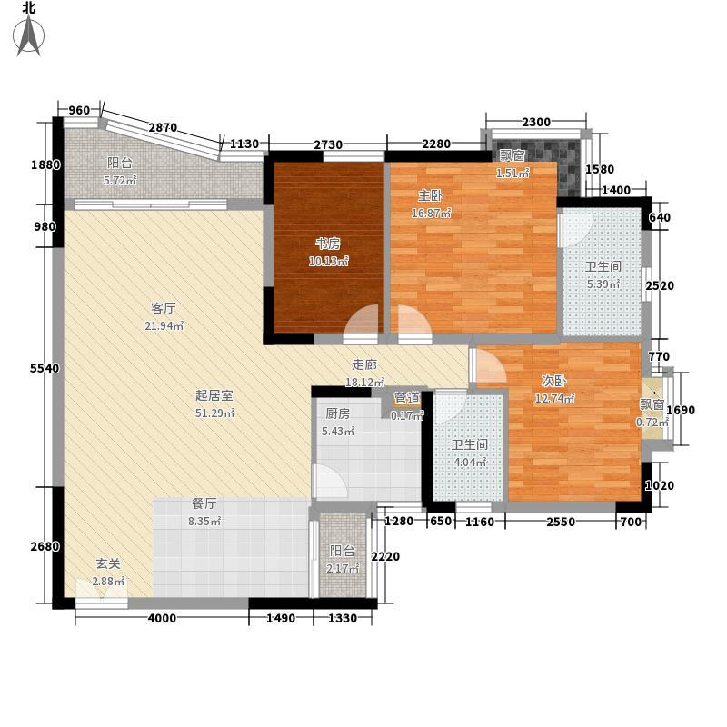 名门世家128.13㎡名门世家户型图户型图63室2厅2卫1厨户型3室2厅2卫1厨