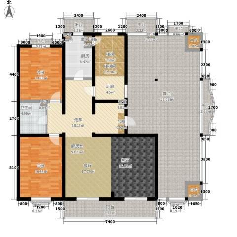 海景假日2室0厅1卫1厨188.14㎡户型图
