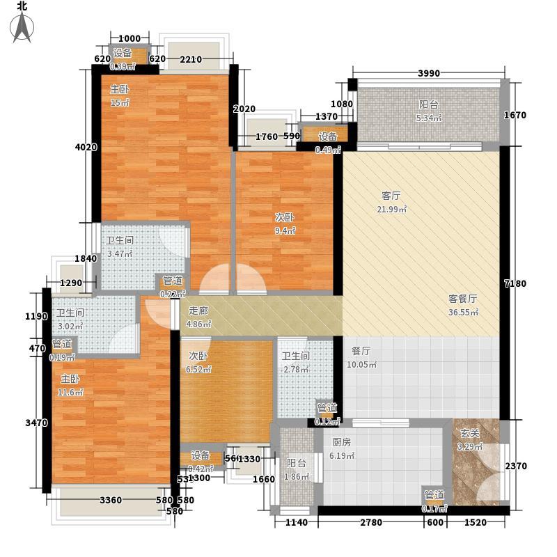 金阳新世界143.27㎡4室2厅3卫