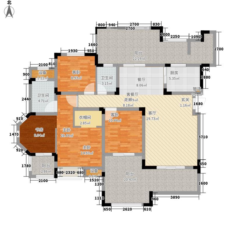 时代国际时代国际 A1-2户型 3室2厅2卫户型