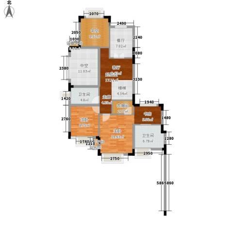 白金海岸2室1厅2卫0厨237.00㎡户型图