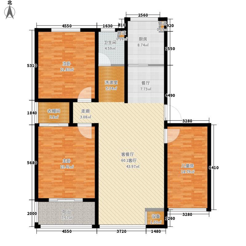 川江教师新村168.00㎡川江教师新村3室户型3室