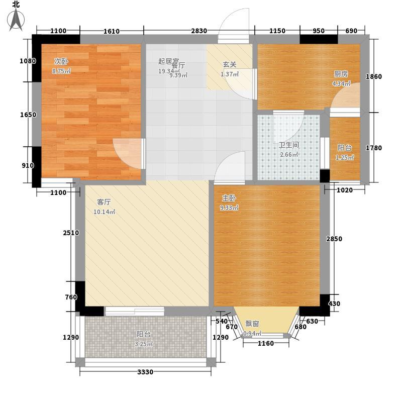 化工新村化工新村户型图201007240843282室2厅1卫1厨户型2室2厅1卫1厨