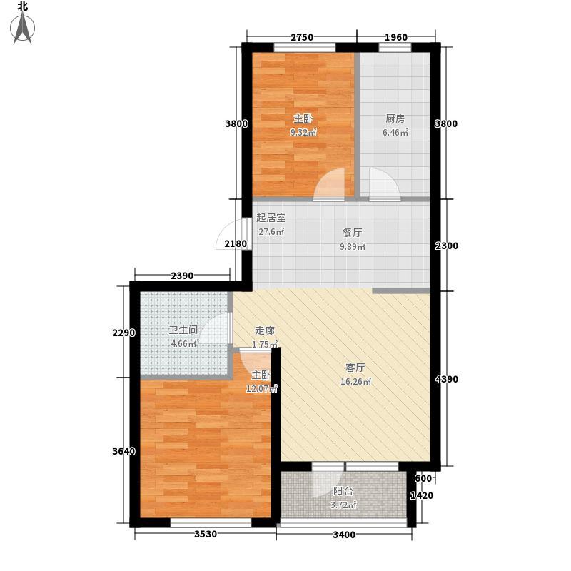 金港湖畔71.79㎡金港湖畔户型图户型图2室2厅1卫1厨户型2室2厅1卫1厨