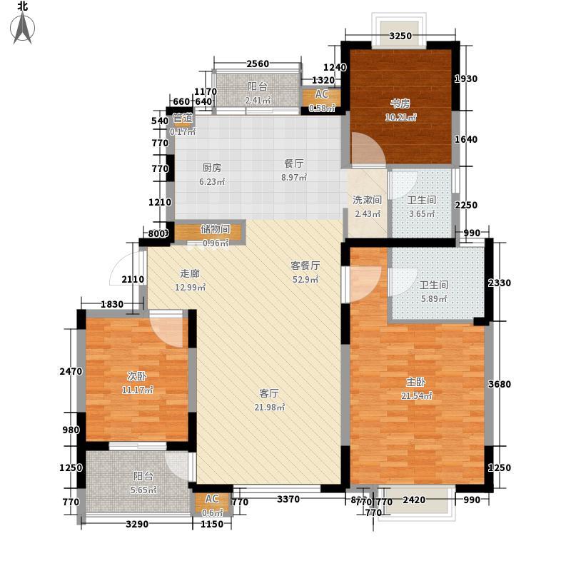 名馨花园130.00㎡名馨花园户型图3居室3室2厅2卫1厨户型3室2厅2卫1厨