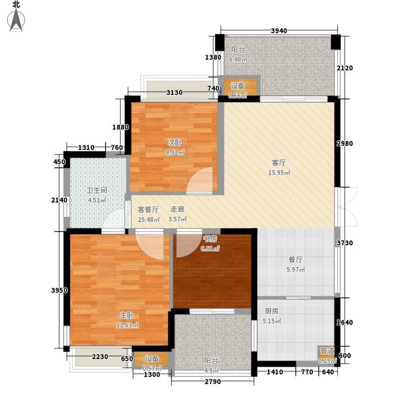 广宇西城美墅88.00㎡广宇西城美墅户型图3室户型图3室2厅1卫1厨户型3室2厅1卫1厨