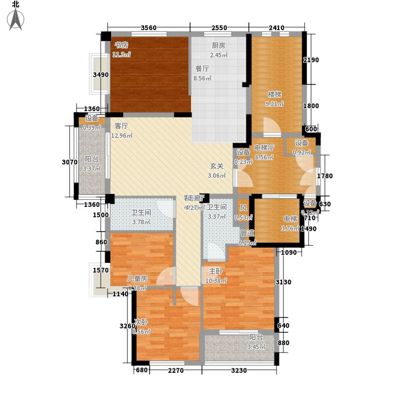 广宇西城美墅119.00㎡广宇西城美墅户型图4室户型图4室2厅2卫1厨户型4室2厅2卫1厨