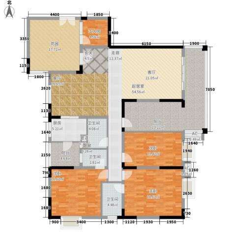 威斯登堡3室0厅3卫1厨201.00㎡户型图