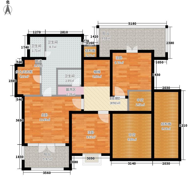 万科兰乔圣菲户型图户型图 5室2厅3卫2厨