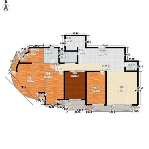 三箭如意苑4室0厅3卫0厨266.00㎡户型图