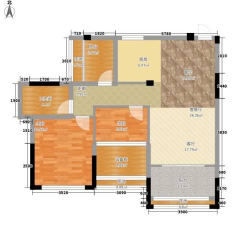 贵都之星2室1厅1卫0厨112.00㎡户型图