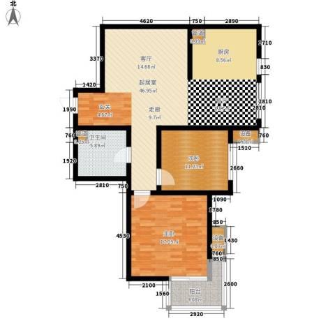 武阳丽园2室0厅1卫0厨125.00㎡户型图