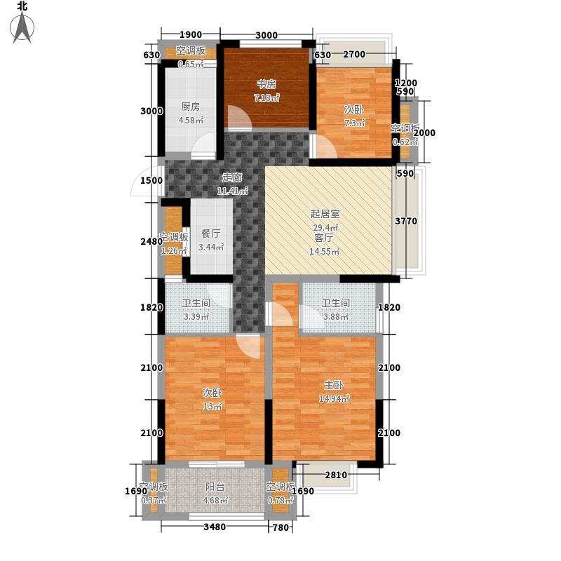 115.00㎡A户型4室2厅2卫