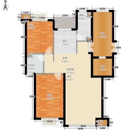兴隆中泰广场2室0厅1卫1厨112.00㎡户型图
