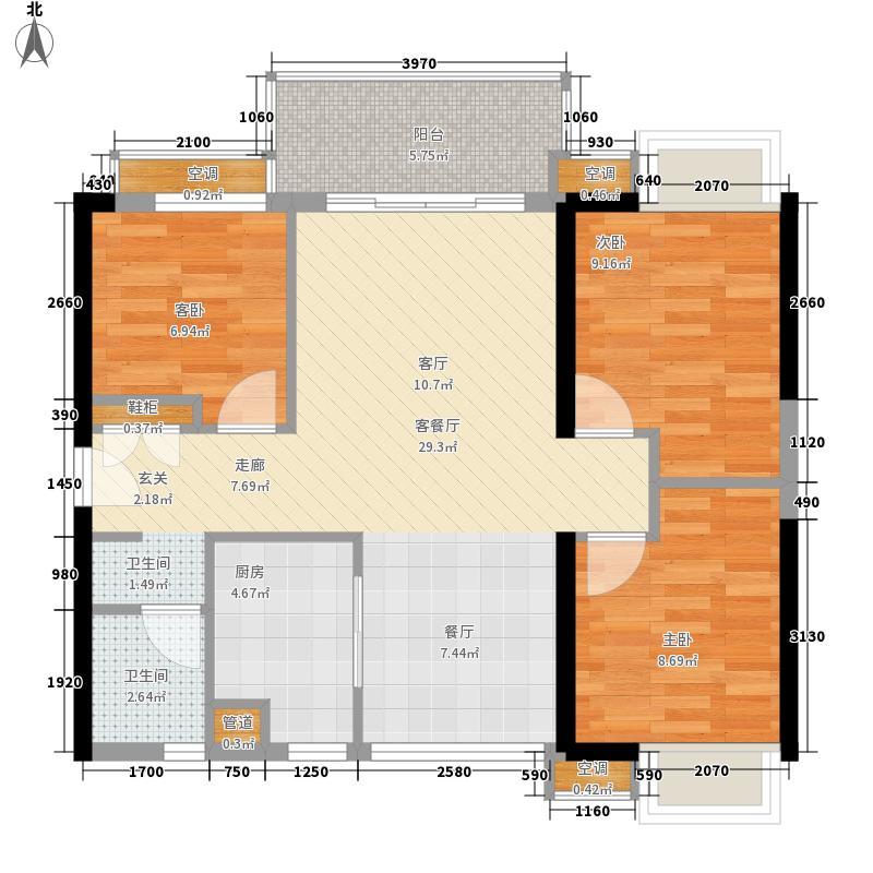 星海花园星海花园户型图三室两厅一卫13室2厅1卫1厨户型3室2厅1卫1厨