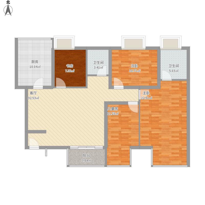 四室一厅143