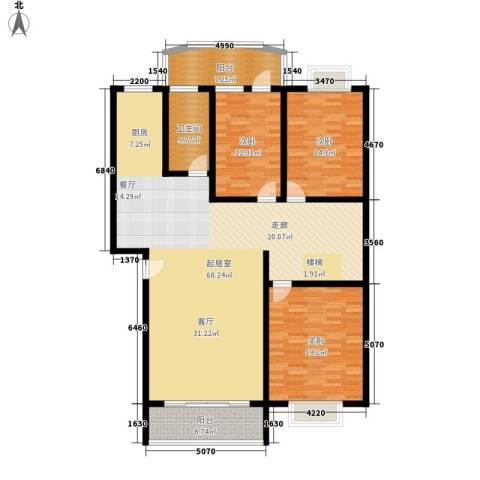 沙田镇私人住宅3室0厅1卫0厨1500.00㎡户型图