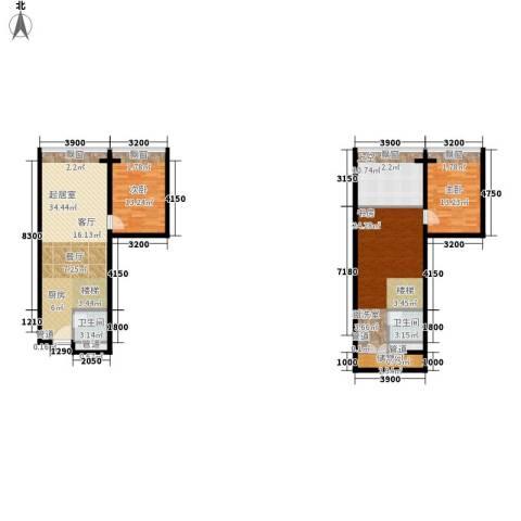 敏捷伊顿公馆3室0厅2卫0厨151.00㎡户型图
