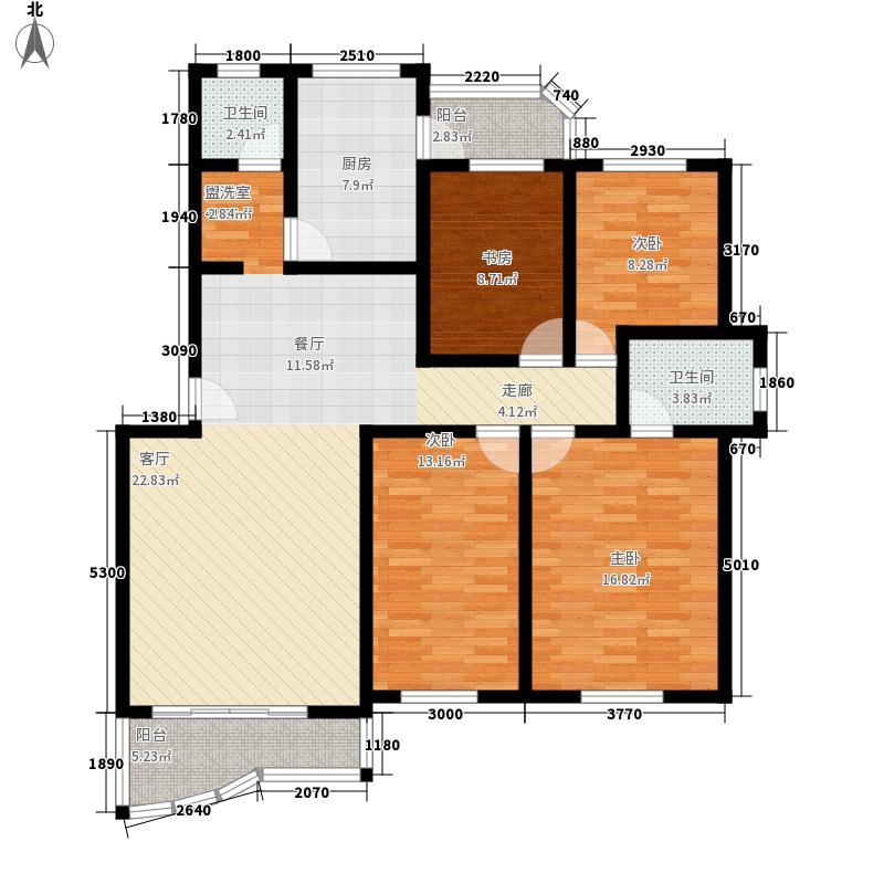 东方花园二期127.95㎡上海东方花园二期户型10室