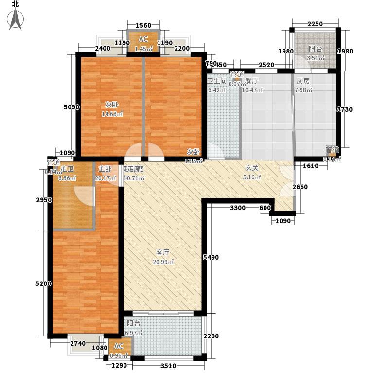 首开・国风上观146.00㎡首开・国风上观户型图A-1户型3室2厅2卫1厨户型3室2厅2卫1厨