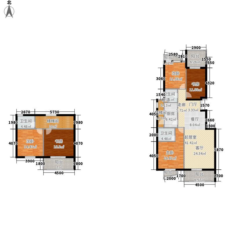 联邦广场199.20㎡联邦广场户型图5室2厅3卫户型10室