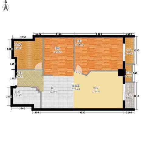 万都阿波罗1室0厅1卫1厨113.00㎡户型图