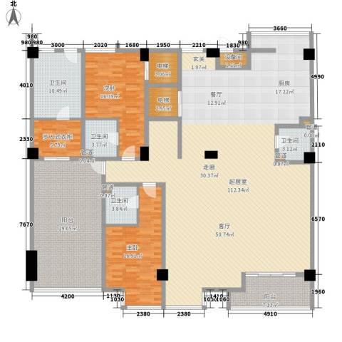 锦绣唐朝2室0厅4卫0厨262.00㎡户型图