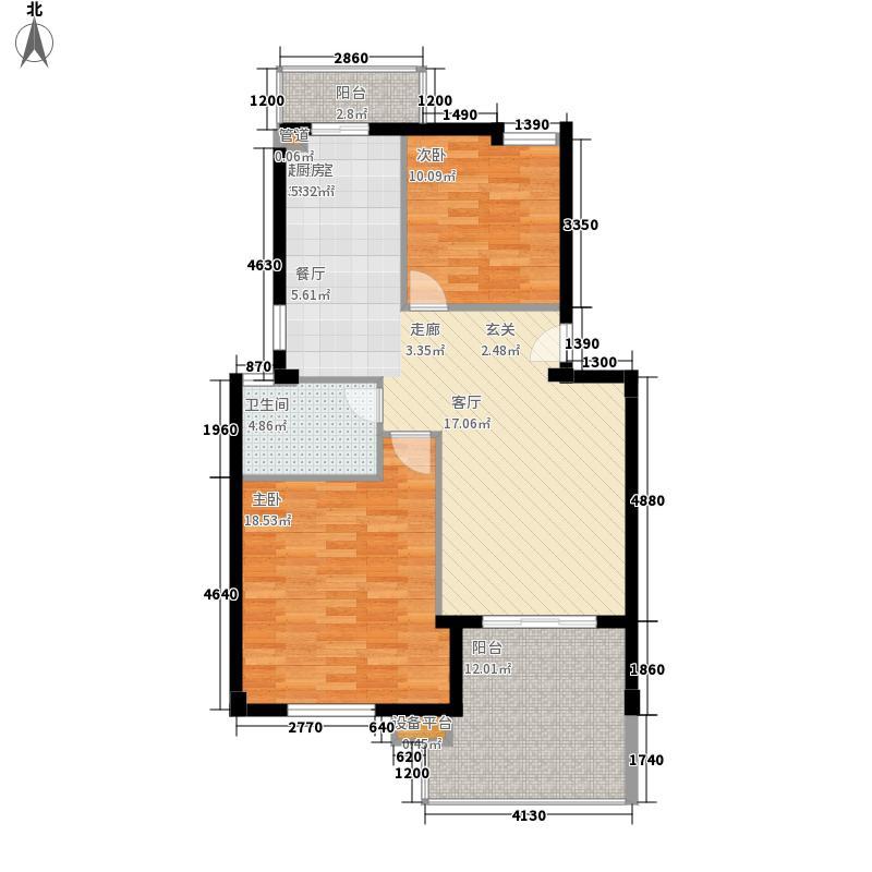 三木家园户型图3室