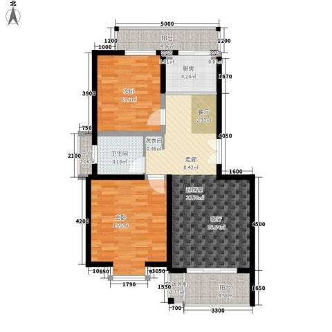 新城佳园2室0厅1卫1厨107.00㎡户型图