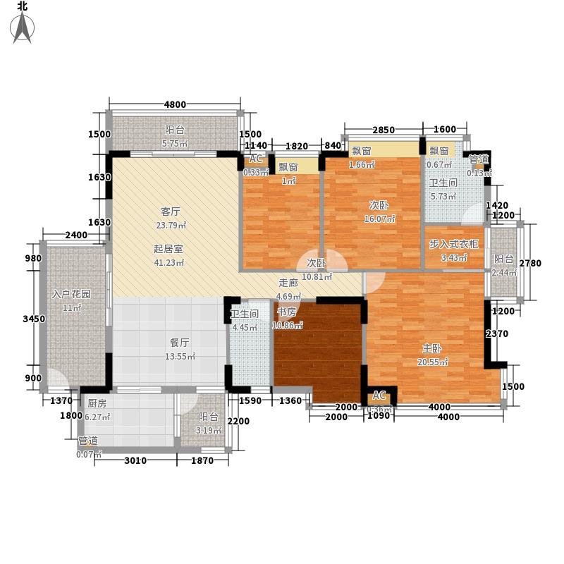 阳光海岸悦湾165.15㎡阳光海岸悦湾户型图8、10、12、13、16、17#楼标准层B户型4室2厅2卫1厨户型4室2厅2卫1厨
