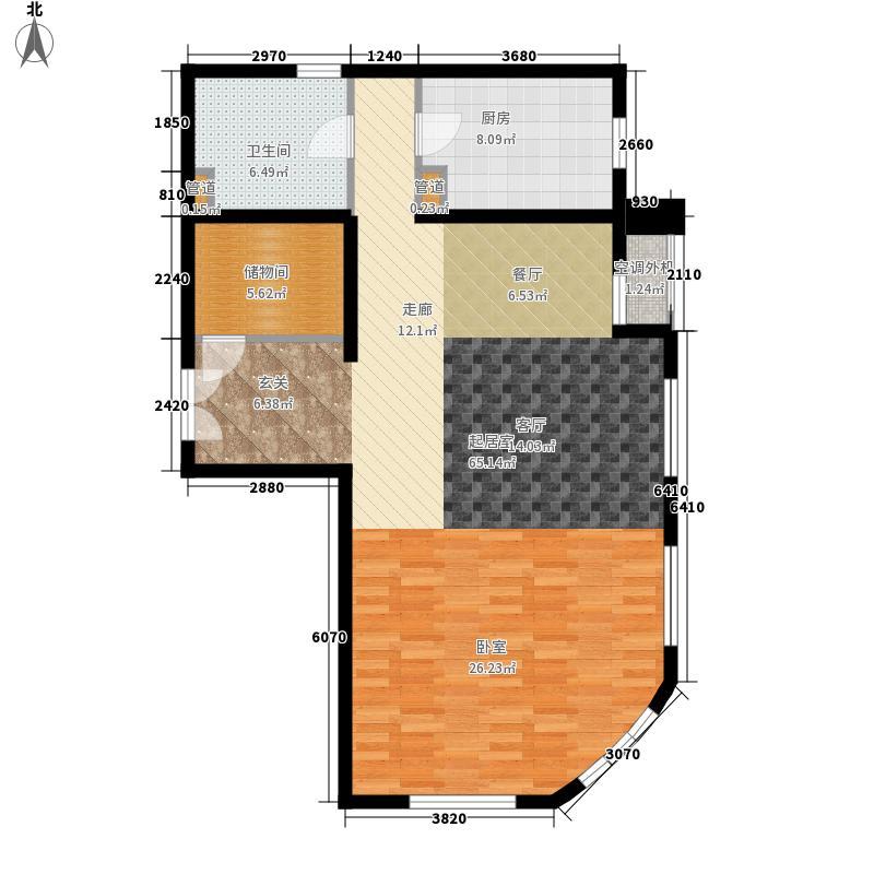 远洋天地二期远洋天地二期2室1厅户型2室1厅