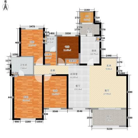 南通运杰龙馨园4室0厅2卫1厨194.00㎡户型图