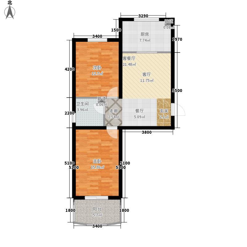 金岗新村金岗新村户型图2室1厅1卫1厨户型10室