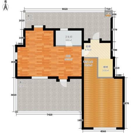 书香门第1室0厅1卫0厨162.00㎡户型图